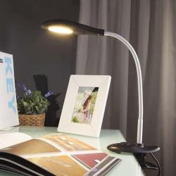 Настільна лампа на струбцині – стійкий і стильний світильник