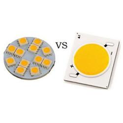 Чем отличаются светодиоды COB и SMD?