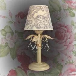 Настільні лампи стилю прованс
