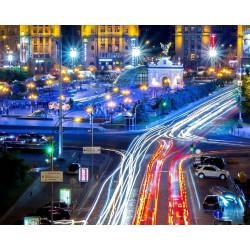 Освещенность на трассах и дорогах