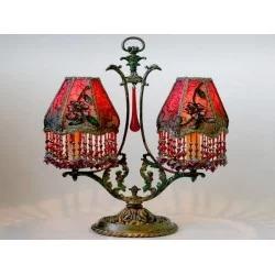 Як використовувати декоративні настільні лампи з абажуром в інтер'єрі