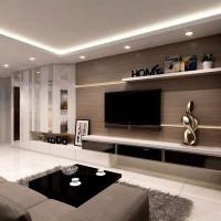 Лед ленты для освещения гостиной