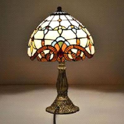 Настольная лампа тиффани декоративная