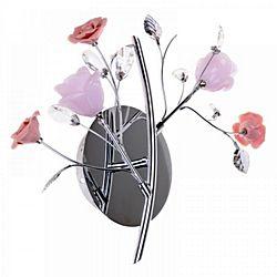 цветы на люстре флористика
