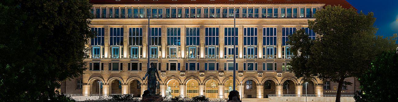 зовнішнє освітлення будівлі