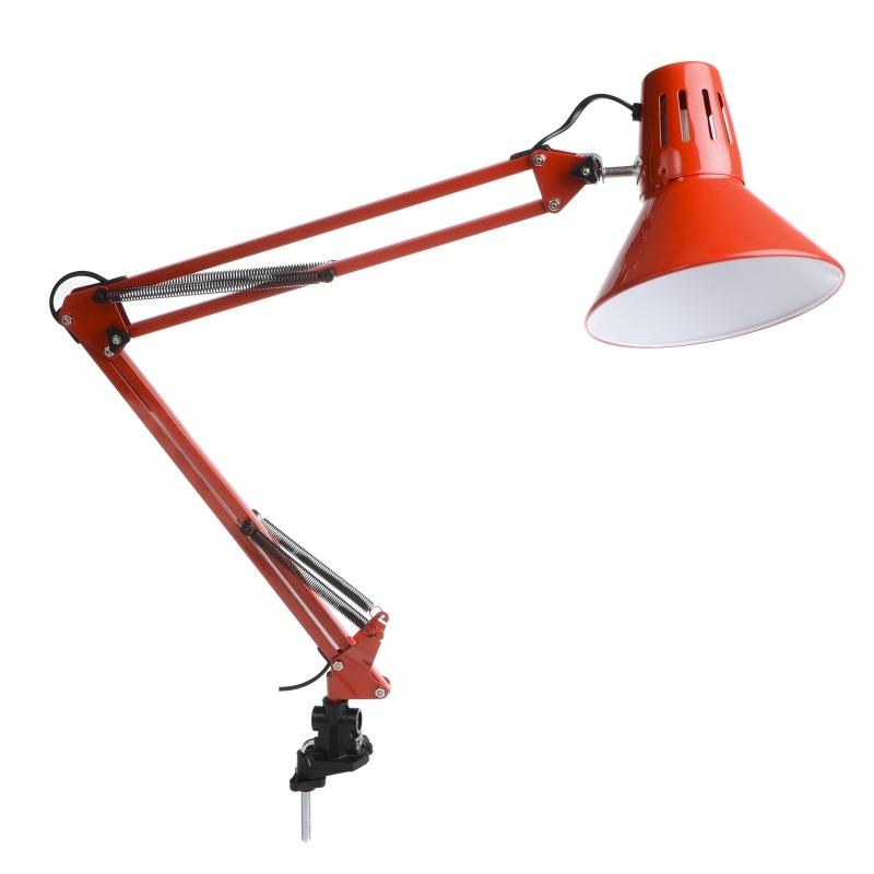 настольные лампы на струбцине