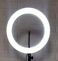 Лампа кольцо на штативе