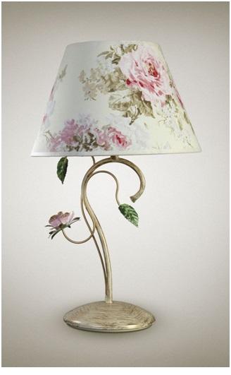 Лампа в стиле прованс
