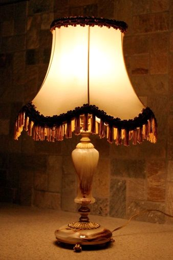 Лампа настольная винтаж