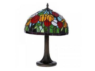Настільна лампа Тіффані в традиційному виконанні