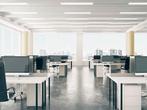 освещение офиса фото