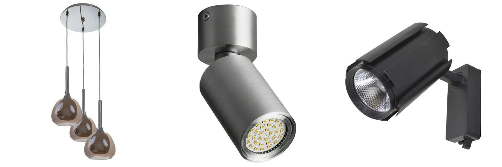 Ассортимент люстр и светильников в магазинах Brille