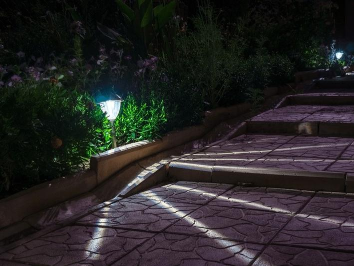 освещение дорожек загородных домов