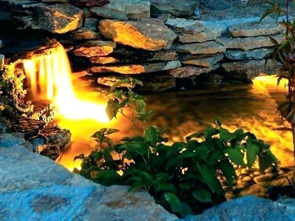 подсветка фонтанов и искусственных прудов
