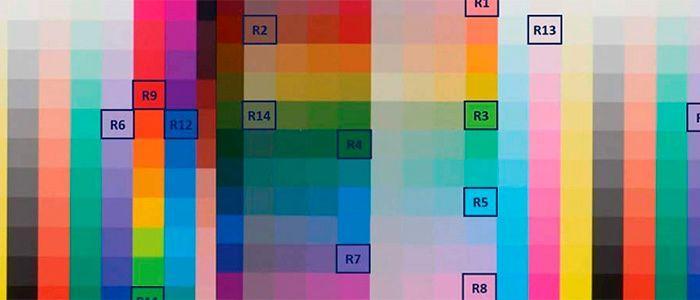 індекс передачі кольору Ra
