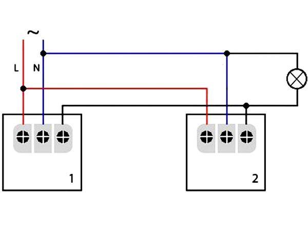 схема подключения датчика света
