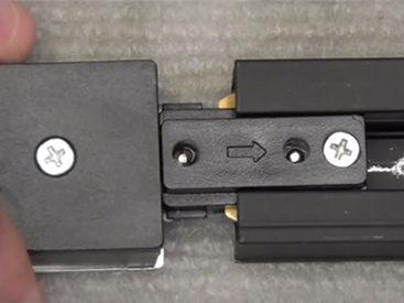 кріплення шинопроводу до стелі, під'єднання проводів