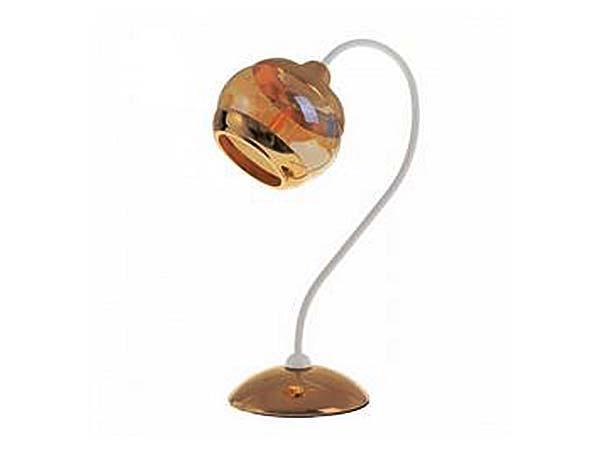 Настольная лампа барокко LK-661T/1 E27 WH+FG