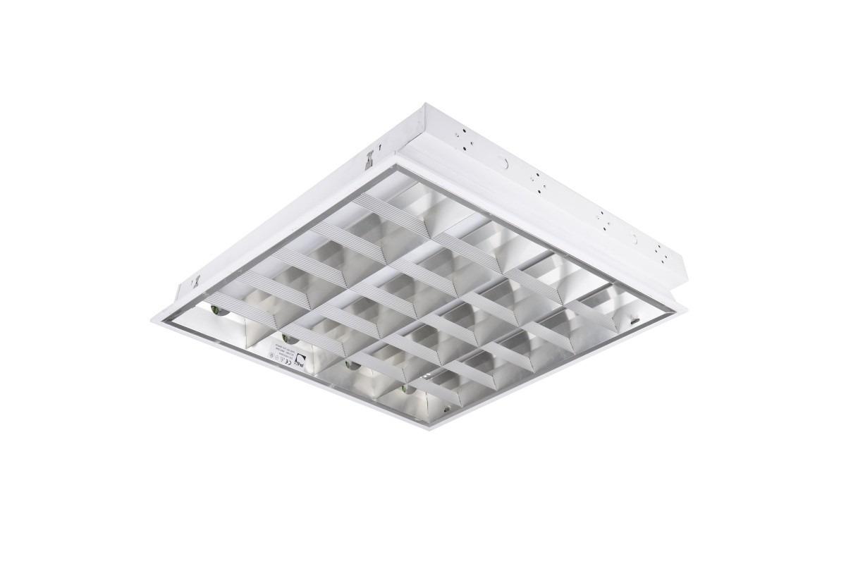 фото растрового світильника для люмінесцентних ламп