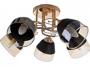 люстра для димера, купити сучасну люстру, стельовий світильник