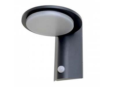 вуличний світильник з датчиком руху, підсвічування з вмиканням від руху