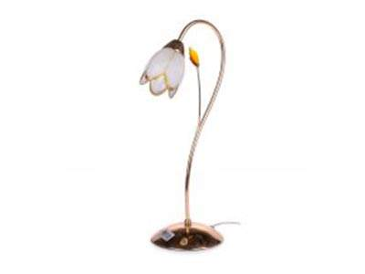 Настільна лампа флористика