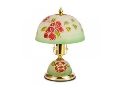 Настільна лампа з квітковим дизайном