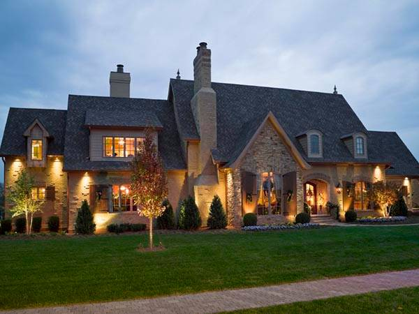 наружное освещение загородного дома