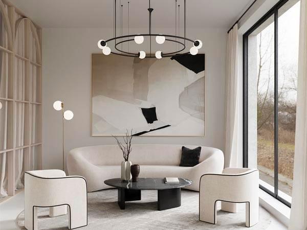 Скандинавський стиль в освітленні, фото