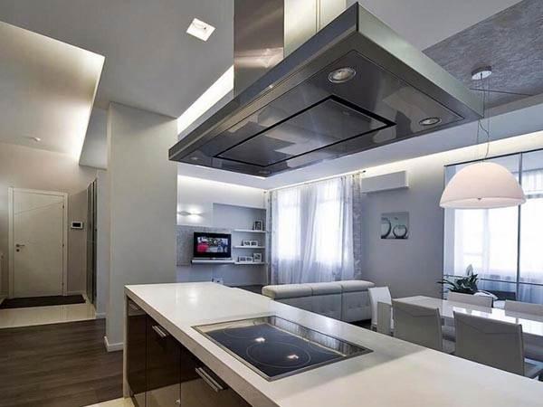 стиль техно кухня фото