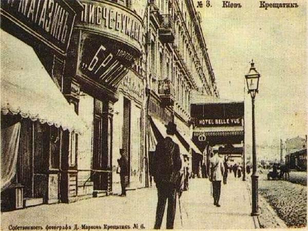 Перші вуличні ліхтарі