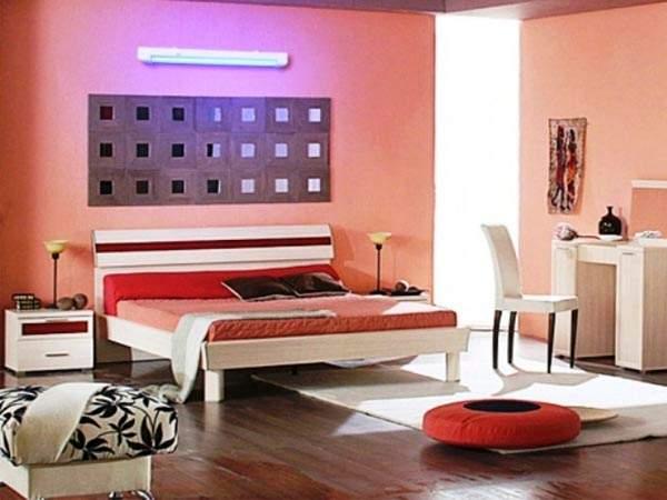 Бактерицидные лампы в спальне