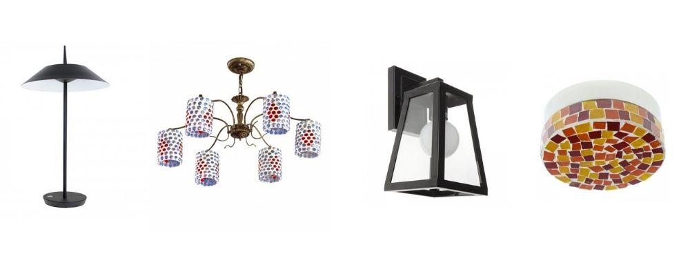 Люстра для котеджу, світильники для дачі, настільна лампа для заміського будинку
