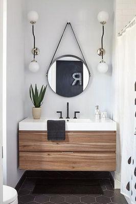 Бра в ванной комнате фото