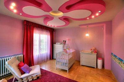 освітлення в кімнаті з немовлям