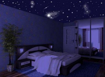 Светильники ночное небо