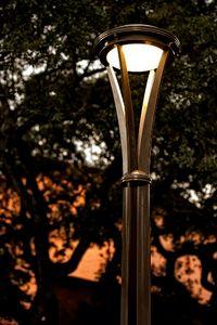 Уличный светодиодный светильник оригинальной формы