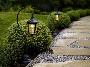 Декоративные садовые фонари