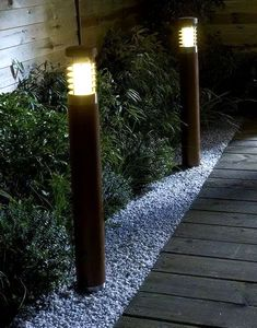 садовые светильники столбики