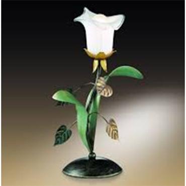 настольная лампа цветок