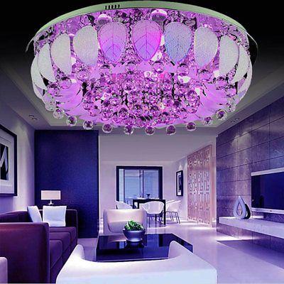 Круглая LED люстра с подсветкой