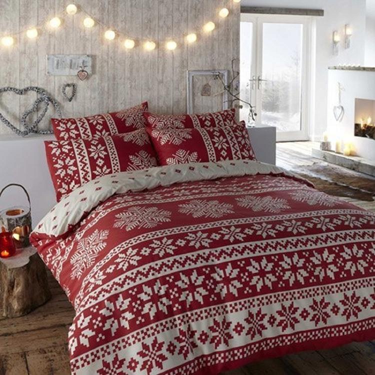 декорування спальні гірляндою